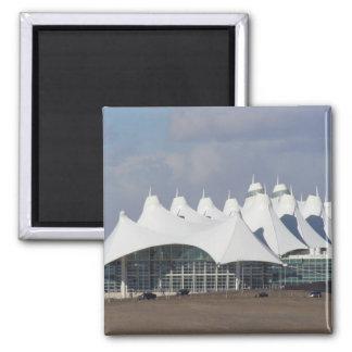 Denver International Airport Main Terminal Buildin Magnet
