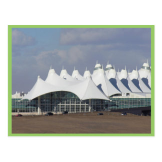 Denver International Airport Main Terminal Buildin Postcard