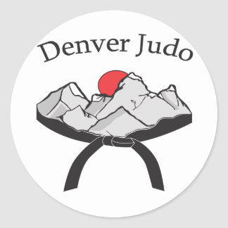 Denver Judo Sticker