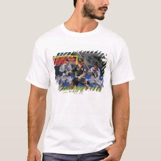 DENVER - JULY 16:  Brian Langtry #6  Old T-Shirt