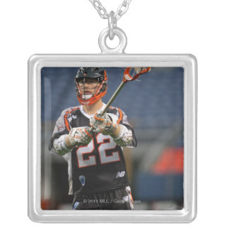 DENVER - MAY 30:  Dan Hardy #22  Denver Silver Plated Necklace