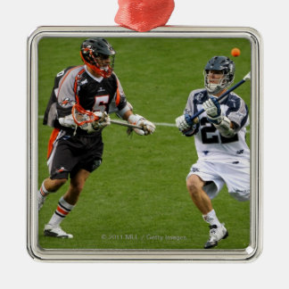 DENVER - MAY 30:  Justin Smith #22 Christmas Ornament