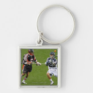 DENVER - MAY 30:  Justin Smith #22 Silver-Colored Square Key Ring