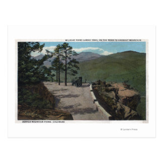 Denver Mountain Park, CO - Wildcat Point Lariat Postcard