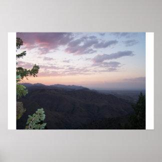 Denver Mountains Poster