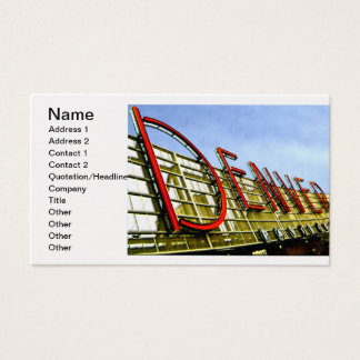 Denver Pavilion Business Card