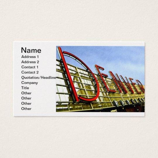Denver Pavilion Business Card