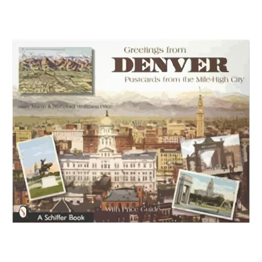 Denver Post Cards From The Mile-High City, Vintage Flyers