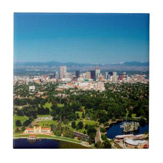 Denver Skyline Tile