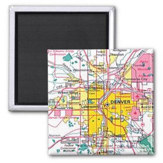 Denver Square Magnet