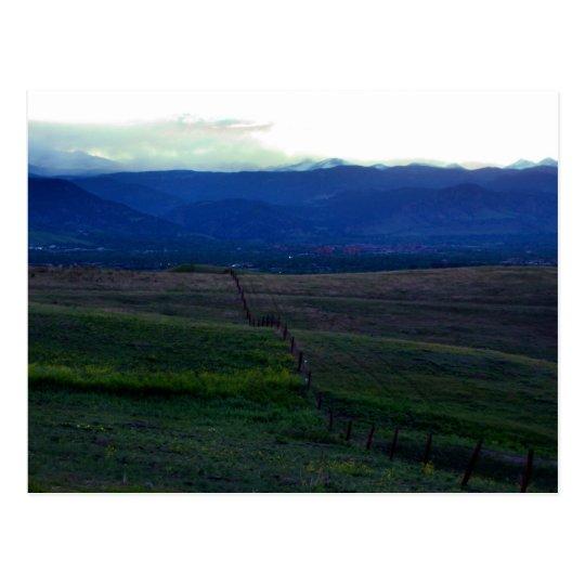 Denver Sunset 2 Postcard