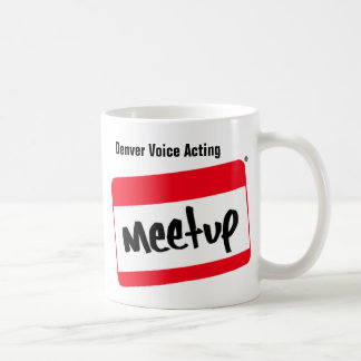 Denver Voice Acting Meetup Mug