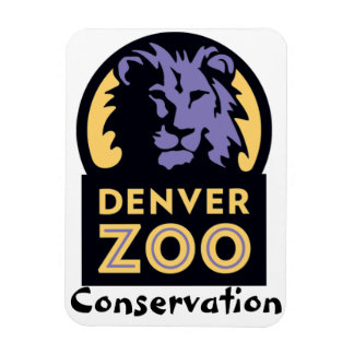 Denver Zoo Conservation Rectangular Photo Magnet