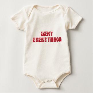 Deny Everything Baby Bodysuit