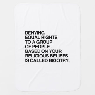 DENYING EQUAL RIGHTS BASED ON RELIGIOUS BELIEFS PRAMBLANKET