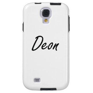 Deon Artistic Name Design Galaxy S4 Case