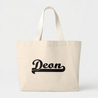 Deon Classic Retro Name Design Jumbo Tote Bag