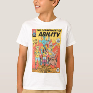 Department Of Ability kids super hero tshirt