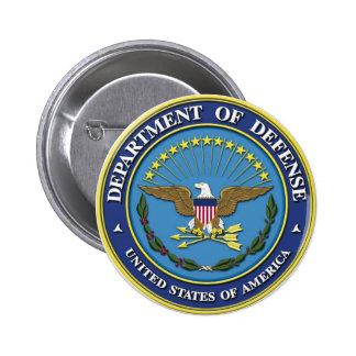 Department of Defense 6 Cm Round Badge