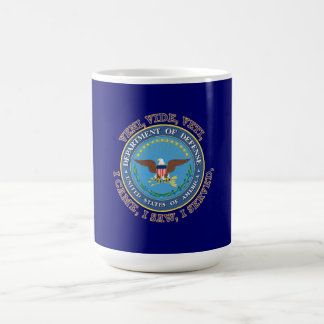 Department of Defense DOD VVV Shield Basic White Mug