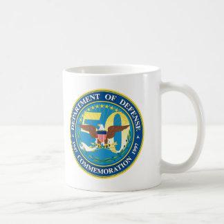 Department of Defense Basic White Mug