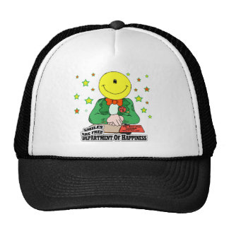 DEPARTMENT OF HAPPINESS MESH HAT