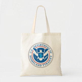 Department of Homeland Tyranny Canvas Bags