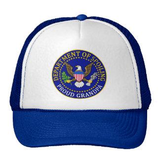 Department of Spoiling - Proud Grandpa Cap