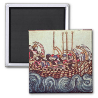 Departure of a Boat for the Crusades, Refrigerator Magnets