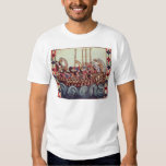Departure of a Boat for the Crusades, Tee Shirts