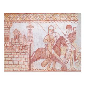 Departure of the Crusaders Postcard