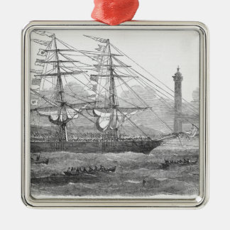 Departure of 'The Lizzie Webber' Christmas Ornament