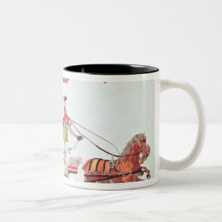 Departure of the Three Orders for Versailles Two-Tone Coffee Mug