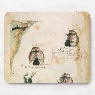 Departure of Vasco da Gama Mouse Mat