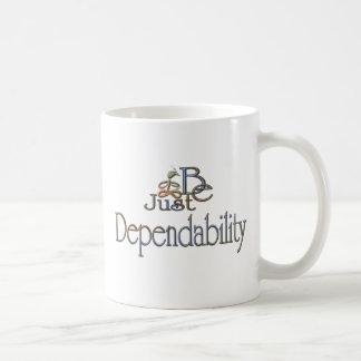 Dependability Basic White Mug