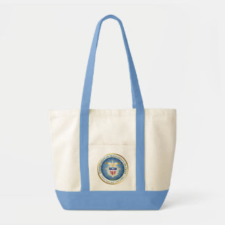 Dependents on Duty Seal Impulse Tote Bag
