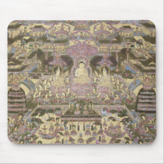 Depiction of Spiritual and Material Worlds Mouse Pad
