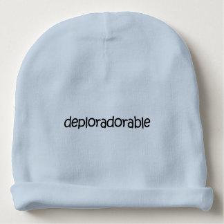 Deplorable + Adorable? Deploradorable! Knit Hat Baby Beanie