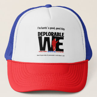 Deplorable Trucker Hat