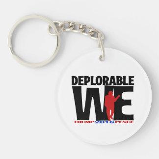 Deplorable We key chain