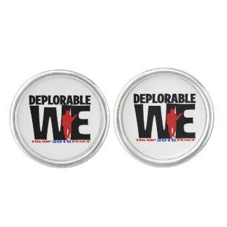 Deplorable We Wear cuff links
