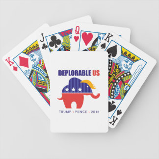 DeplorableUS Bicycle Playing Cards