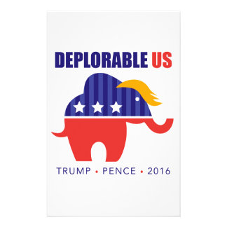DeplorableUS Stationery