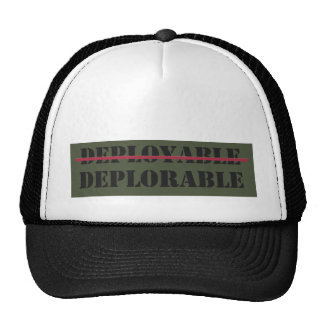 Deployable/Deplorable Hat