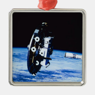 Deployment of a Satellite Christmas Ornament