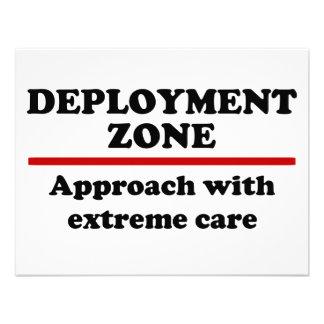 Deployment Zone Announcements