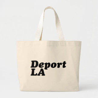 Deport LA Jumbo Tote Bag