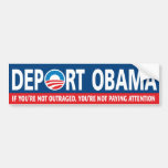 DEPORT OBAMA! BUMPER STICKER