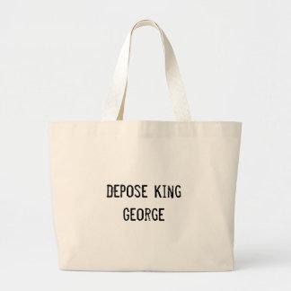 Depose King George Tote Bag