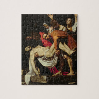 Deposition, 1602-4 (oil on canvas) jigsaw puzzle